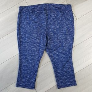 0a535f023ee19f Catherines Pants - Catherines Plus Size 3X Active Blue Capri Leggings
